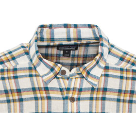 Patagonia M's Steersman LS Shirt Anchor: Big Sur Blue